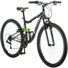 4ba7f02ac11 27.5 Mongoose Mens Mountain Bike Bicycle 21 Speed Shimano Dual Suspension