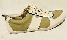 Aldo White & Tan Casual Sneakers Men's US Size 11.5 EUR Size 43