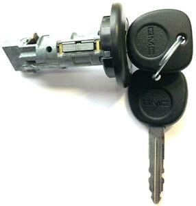 NEW GMC Ignition Lock Cylinder Switch W/ 2 OEM LOGO KEYS - SIERRA YUKON - 707835