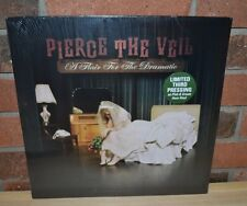 PIERCE THE VEIL - A Flair For The Dramatic, Limited PINK/CREAM HAZE VINYL New