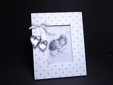 White Wooden Shabby Chic Photo Frame (picture size 13 x 9 ) Home Decoration