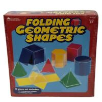 Learning Resources Folding Geometric Shapes Grade 2+ BRAND NEW!