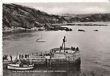 Cornwall Postcard - The Banjo Pier and Coast Line - Looe    Y171