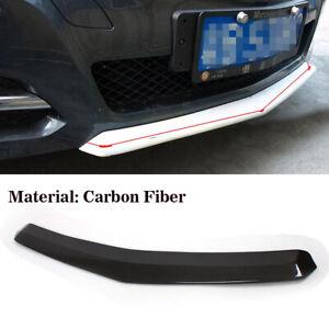 Carbon Frontspoiler Frontlippe für Mercedes Benz W212 E Klasse Schwert Tuning