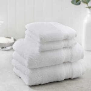 Charisma 4 piece Hand Handwash and Washcloth Bathing Bath Towel Towels Set