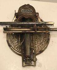 Antique Odell No. 4 Typewriter Chicago Illinois