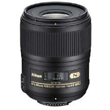 Nikon Nikkor 60mm f/2.8G ED AF-S Micro Lens
