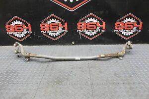 08-15 Mitsubishi Lancer EVO X REAR ADJUSTABLE Stabilizer Sway Bar Used OEM #42
