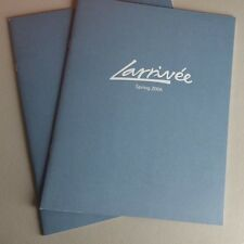 Larrivee Acoustic Guitars Spring 2006 Sales Catalog Brochure 10-15 Pages