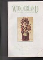 Wonderland a Treasury of Nostalgia Fall 2000 Catalog of Dolls