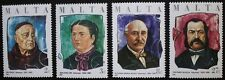 Maltese philanthropists stamps, 1986, Malta, SG ref: 785-788, 4 stamp set, MNH