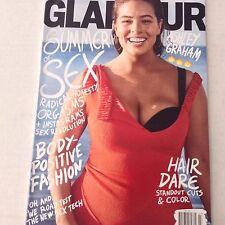 Glamour Magazine Ashley Graham Hair Dare  July 2017 062017nonrh