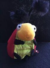 Cute!~Hallmark Plush Ladybug Bug ~ Zippered Pouch Storage (for gift card/$$)
