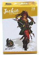Wargamer HD-28-20 Jackie the Pirate (28mm) Hot & Dangerous Female Pinup Hero NIB
