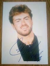 George Michael / Wham Signed Photograph Repro/Reprint A4 Print