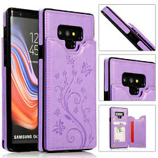 Case Cover For Samsung Galaxy Note10+ Note9/8 Magnetic Leather Wallet Card Phone