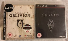 The Elder Scrolls IV:Oblivion & The Elder Scrolls V:Skyrim PS3 Games Bundle