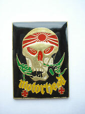 MOTORHEAD KAMIKAZI EDDIE SKULL HEAVY METAL ROCK BAND MUSIC PIN BADGE FREE POST