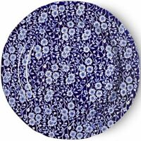 Burleigh ware Blue Calico dinner plate 26.5cm