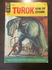TUROK SON OF STONE #54 G/VG GOOD VERY GOOD GOLD KEY COMICS 1964
