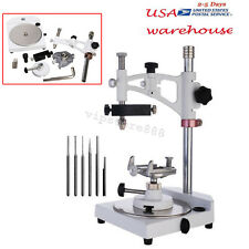 Dental Lab Parallel Surveyor Equipment+ tools handpiece holder Adjustable USA!