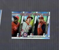 2017 Bowman Chrome NATIONALS Talent Pipeline MOJO Refractor- Victor Robles