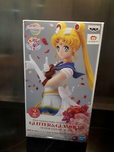 Sailor Moon Figurine Glitter & Glamours version B A  23 cm Banpresto rare neuf