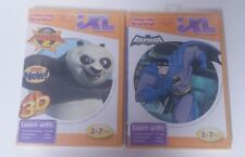 Lot of 2 Fisher Price iXL Games Kung Fu Panda 2 and Batman The Brave & The Bold