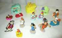 Flintstones Toys Figures Cars Houses Magnet 14 items