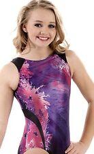 """Nastia Liukin Gymnastics Leotard Gk Elite """"Berry Splash� E3275 Sold Out Sz: Cl"""