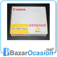 Toner Canon Geniune CLC 300 Amarillo Yellow 1439A002  Original Nuevo