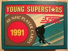 1991 SCORE YOUNG SUPERSTARS FACTORY SET  !!