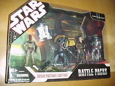 Star Wars Battle Pack Droid Factory Capture set MISB 30th Anniversary AOTC MIB