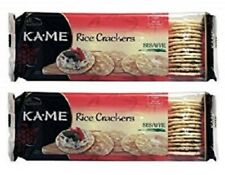 Kame Rice Crackers Sesame 2 Pack