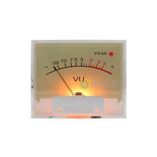 Tn 65 Amplifier Vu Panel Meter Db Level High Precision Hifi Audio With Backlight
