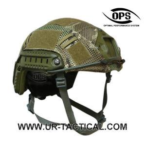 OPS Combat Mesh Helmet Cover for OPSCORE Ballistic High Cut Multicam Size L/XL