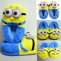 3D Minions Plüsch Schuhe HAUSSCHUHE Ich Einfach Unverbesserlich 2 Gadget Slipper
