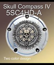 Harley Derby Cover Motorcycle Emblem Skull Compass IV Zambini Bros MFA