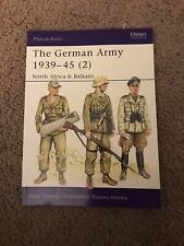 Osprey German Army 1939-45 (2) Man-at-arms Painting Guide Bolt Action WWII #