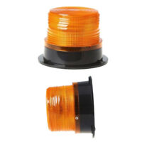 12V 24V Flashing Strobe Beacon Emergency LED Warning Light Car Amber Lamp SM
