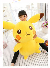 65cm Big Large Stuffed Anime Pokemon Go Pikachu Soft Plush Toys Doll gift UK Hot