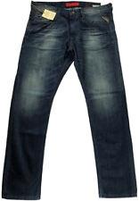 Replay Jeto Men's Jeans M966 Regular Slim Fit New 36 x 32  12 oz Flat Finish