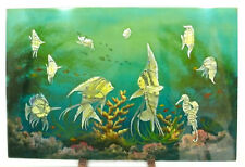 Only One! Tropical Fish Mother Of Pearl Inlay with Paiting Picture PML01