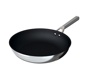 Foodi NeverStick Stainless 12-Inch Fry Pan - Stainless Steel