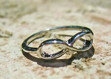 Trendy Infinity Silver Plated Ring, Number 8 Ring, One Direction Ring _ ISR