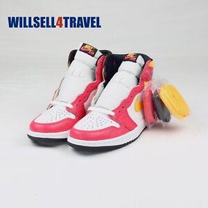 Nike Air Jordan 1 Retro High OG Light Fusion Red Men's Size 7 555088-603 New