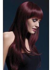 Sienna Wig Long New Adult Halloween Cristmas Womens Accessories Black Cherry