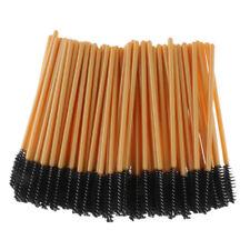 100Pcs Eyelash Brush Disposable Mascara Wands Make Up Applicators Extensions