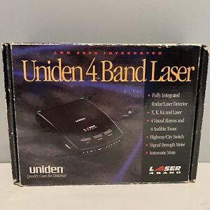 Uniden Stalker LRD 2000 4 Band Laser Radar Detector Tested Works Original Box