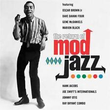 RETURN OF MOD JAZZ Various NEW & SEALED MOD CLUB  CD (KENT) 60s SOUL - NORTHERN
